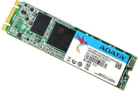 ADATA SP550 Premier M.2 2280 240GB Solid State Drive Image